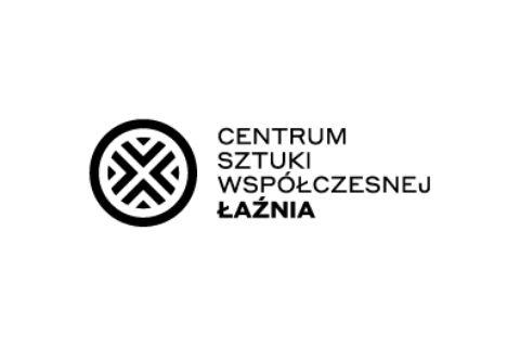Logo centrum Sztuki Współczesnej Łaźnia