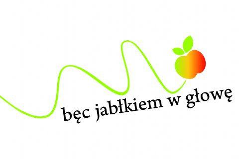 Logo bęc jabłkiem w głowę
