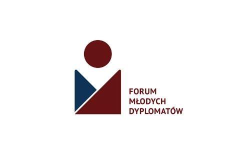Logotyp Forum Młodych Dyplomatów