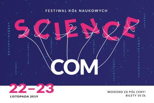 Plakat ScienceCom 2019
