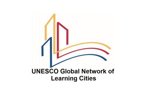 Logotyp UNESCO Global Network of Learning Cities