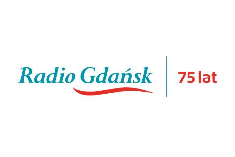 Logotyp Radia Gdańsk na 75-lecie