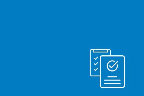 Graficzny symbol kartek obrazujących regulaminy i formularze.