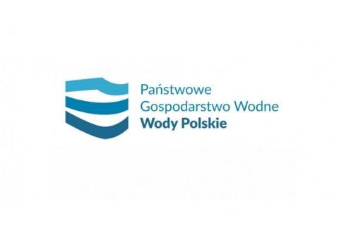 Logotyp Państwowego Gospodarstwa Wodnego Wody Polskie