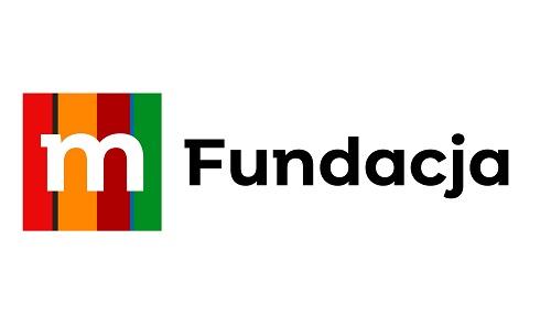 Na grafice widać logo Fundacji Mbanku