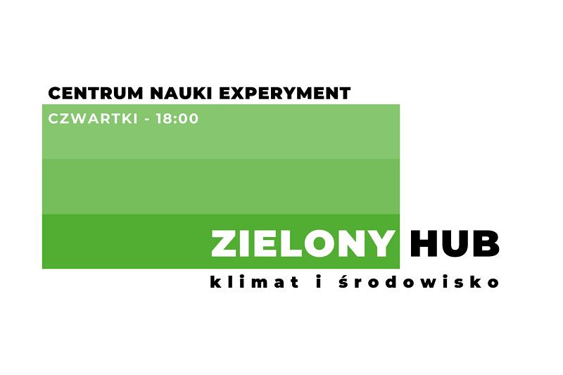 Plakat Zielonego Hubu
