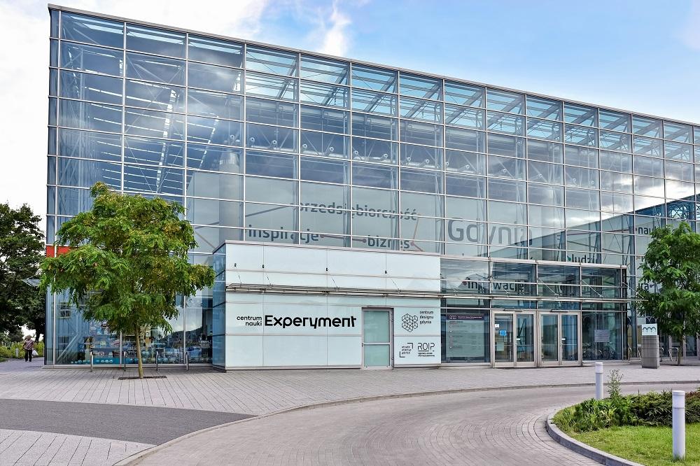 Na zdjęciu widać budynek Centrum Nauki Experyment