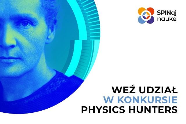 Na grafice widać zdjęcie Marii Skłodowskiej-Curie