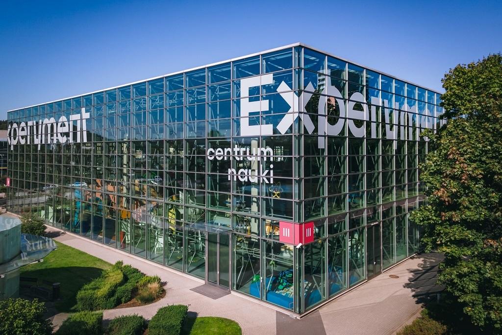 Zdjęcie budynku Centrum Nauki Experyment w Gdyni